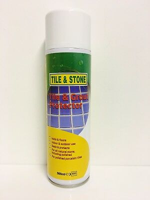 Tile & Grout Sealer and Protector - (1x500ml Aerosol)