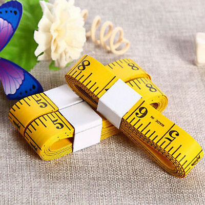 Body Measuring Ruler Sewing Cloth Tailor Tape Measure Soft Flat 300cm / 120""