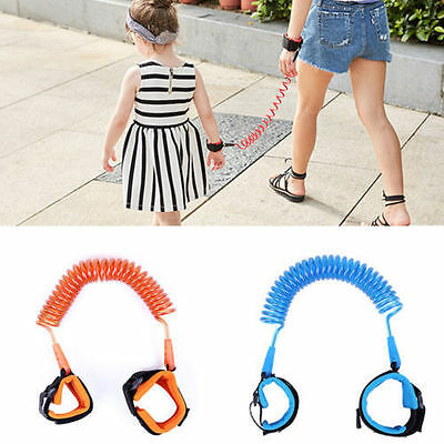 Toddler Kids Safety Walking Harness Child Anti Lost Wrist Leash Hand Belt New