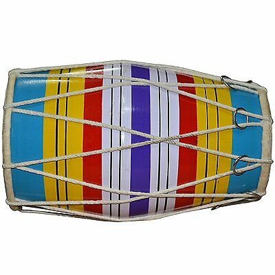 Dholak ( Baby Size) Hand Percussion Drum Indian Musical Instrument.