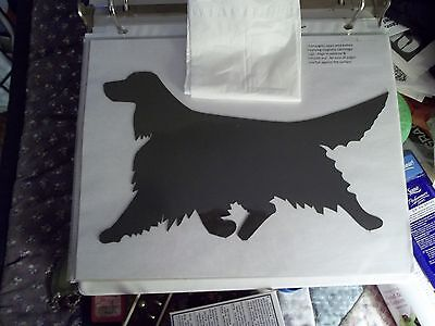 Exquisite Irish Setter Car Magnet Hand Cut and Painted You pick style color