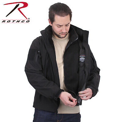 Rothco 3-in-1 Spec Ops Soft Shell Jacket w/Removable Fleece Liner, Black #3943