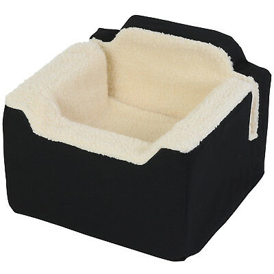 Pet Car Travel Soft Fleece Carrier Booster/Riser Safety Seat Dog/Puppy/Cat Bed