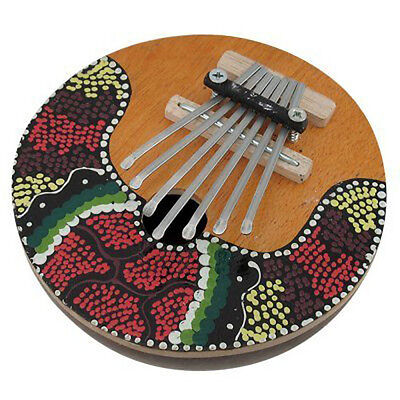 Kalimba 7 key Portable Musical Instrument for Music Education - COLORMIX