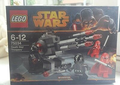 Lego Star Wars Death Star Troopers 75034 Brand New