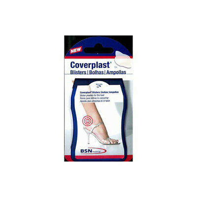 NEW Coverplast Blister Pads Pack Heel 5 Pack First Aid Foot Care