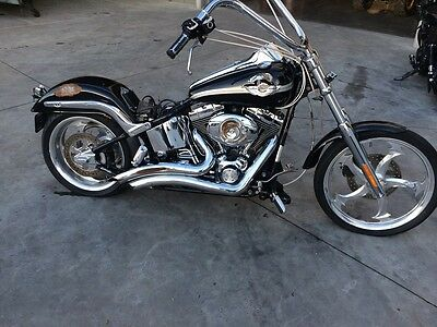 Harley Davidson Anniversary Softail 06/2003 Model  Project Make An Offer