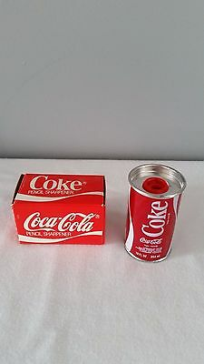 Vintage 1984 Coca Cola Coke Can Pencil Sharpener Brand New in Box
