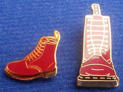 Skinhead Ska Reggae Badge - Dm Boot Badge Set X2