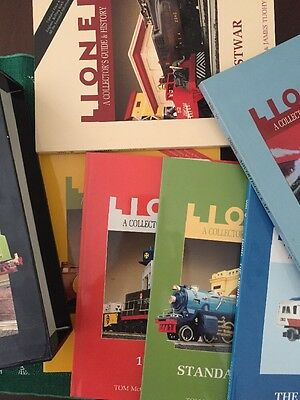 """Lionel TM Books """"A Collector's Guide & History"""" 6 Volume Set"""