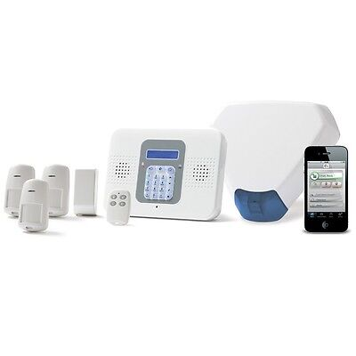 Electronics-Line SecuPlace Wireless Alarm Kit With Sounder - ELKITSP3TRI