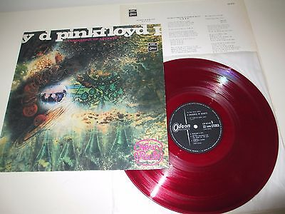 Pink Floyd - Saucer Full Of Secrets - Odeon Japan 1968 Red Vinyl Mega Original