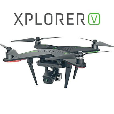 Xiro Xplorer V Drone with 3 Axis Gimbal 1080P Camera + 2 x Batteries