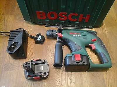 Quality Bosch Psb 14.4V Cordless Hammer Drill With 2 X Batteries,case And Charge