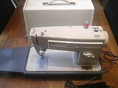 Quality Singer 507 240V Vintage Zig Zag Electric Sewing Machine With Case