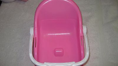 Little Mommy  Pink Booster Seat Doll Seat