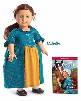 American Girl Doll Felicity & Paper book Beforever NEW in Box