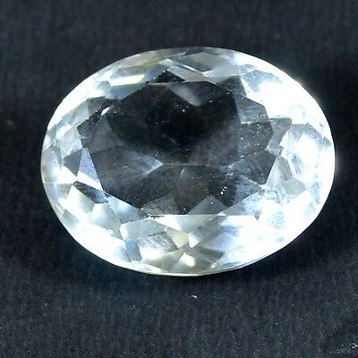 30 Ct. Aaa Faceted Natural Crystal Quartz Oval Cabochon Loose Gemstone A 35926
