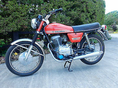 GILERA 150 ARCORE  1973  MOT'd DECEMBER 2017 VERY LOW MILEAGE