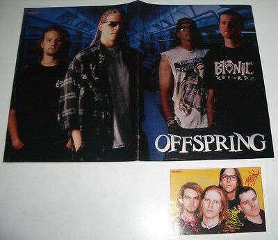 Vintage Offspring Poster & Card, early 90's Germany