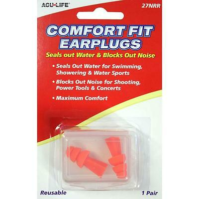 Acu-Life Comfort Fit Ear Plugs Hearing Protection Shooting Protection