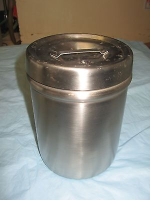 Lead Lined Benchtop Container Stainless RPI