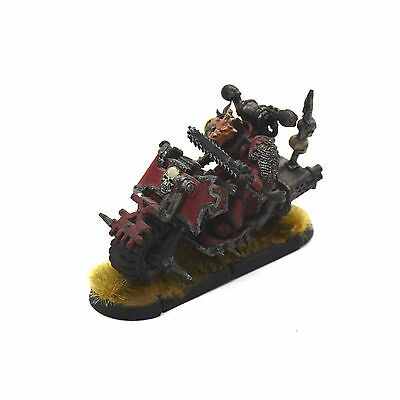 CHAOS SPACE MARINES Lord on Bike Converted #1 WARHAMMER 40K