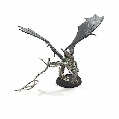 LOTR Balrog With whip Unpainted METAL Games Workshop Moria