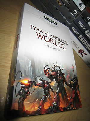 Mark Clapham TYRANT OF THE HOLLOW WORLDS 1st/PB MINT Warhammer 40K Red Corsairs