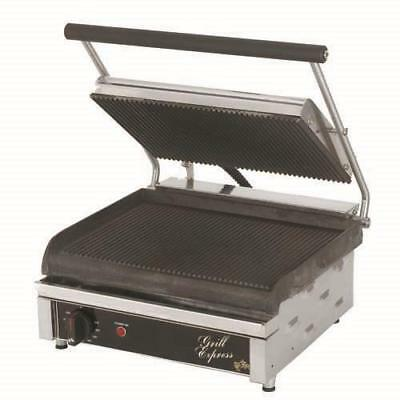 Star - GX14IG - Grill Express™ 14 in Grooved Sandwich Grill