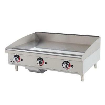 "Star - 648TF - Star-Max 48"" Thermostatic Control Gas Griddle Flat Top Grill"