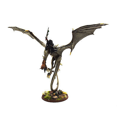 LOTR Witch King Of Angmar on Fell Beast METAL Games Workshop PRO PAINTED