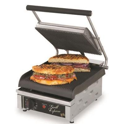 Star - GX10IG - Grill Express™ 10 in Grooved Sandwich Grill