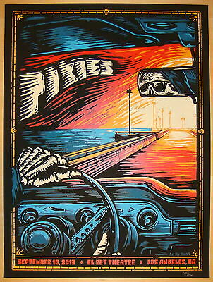 2013 The Pixies - LA II Silkscreen Concert Poster by Mark5