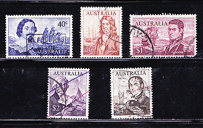 Australia #412-417 Postage Stamps - #414 is Missing-Used - FREE SHIPPING-REDUCED