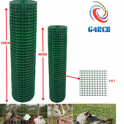 Green PVC Coated Welded Mesh Fence Wire For Garden Fencing Guard Barrier Sizes