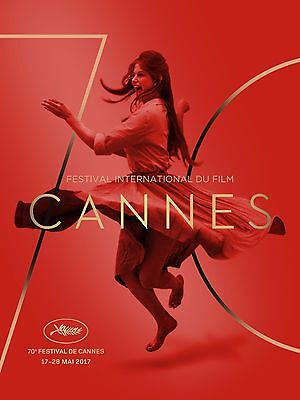 CANNES FILM FESTIVAL 2017 OFFICIAL POSTER ROLLED NEW LARGE Claudia Cardinale