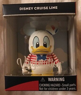 """Disney Vinylmation 3"""" Dcl Cruise Line Donald Duck Mickey Mouse Park Toy Figure"""