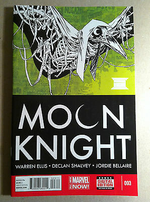 Moon Knight #3 (2014) Warren Ellis Declan Shalvey Near Mint First Printing Now!