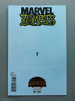 Marvel Zombies (2015) #1 Jerome Opeña 'ant-Sized' 1:15 Variant Nm Secret Wars