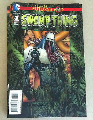 Future's End Swamp Thing #1 3-D Lenticular Hologram Cover Near Mint First Print