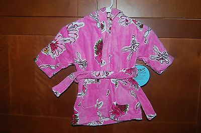POOL BEACH BATH ROBE Pink Size XL (10) Girl BALLET DANCER NWT