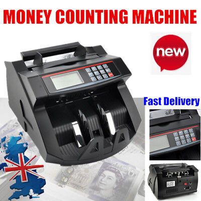 Bank Note Currency Counter Count Detector Money Fast Fake Banknote Cash Machine
