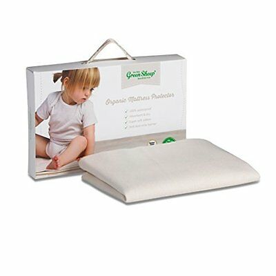 Kids Mattress Protector Organic Waterproof Breathable Extra Absorbent Cotton