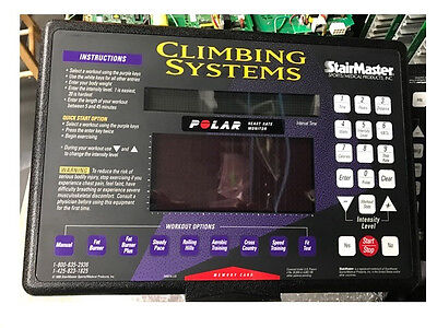 Stairmaster Display Climbing Cystems 4400CL, complete
