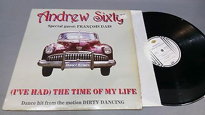 Andrew Sixty -(Ive Had) The Time Of My Life -Maxi  -- Portada Vg +  Disco Vg+/++
