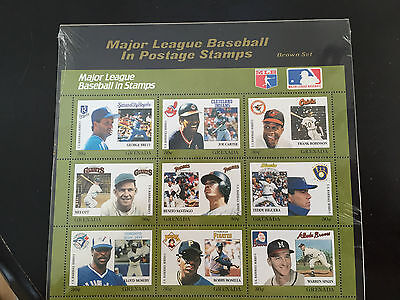 MAJOR LEAGUE BASEBALL STAMPS**Grenada**Brown Set**Brett, Carter, Robinson, Ott