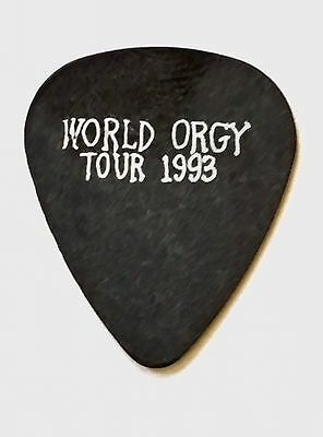 Pearl Jam- - Mike McCready Sexecutiioner World Wide Orgy 1993 Guitar Pick