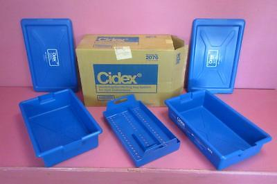 NEW in box Cidex 2076 Instrument Sterilizing Disinfecting Tray System Endoscopy
