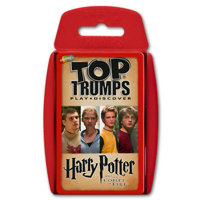 Top Trumps Harry Potter and the Goblet of Fire NEW